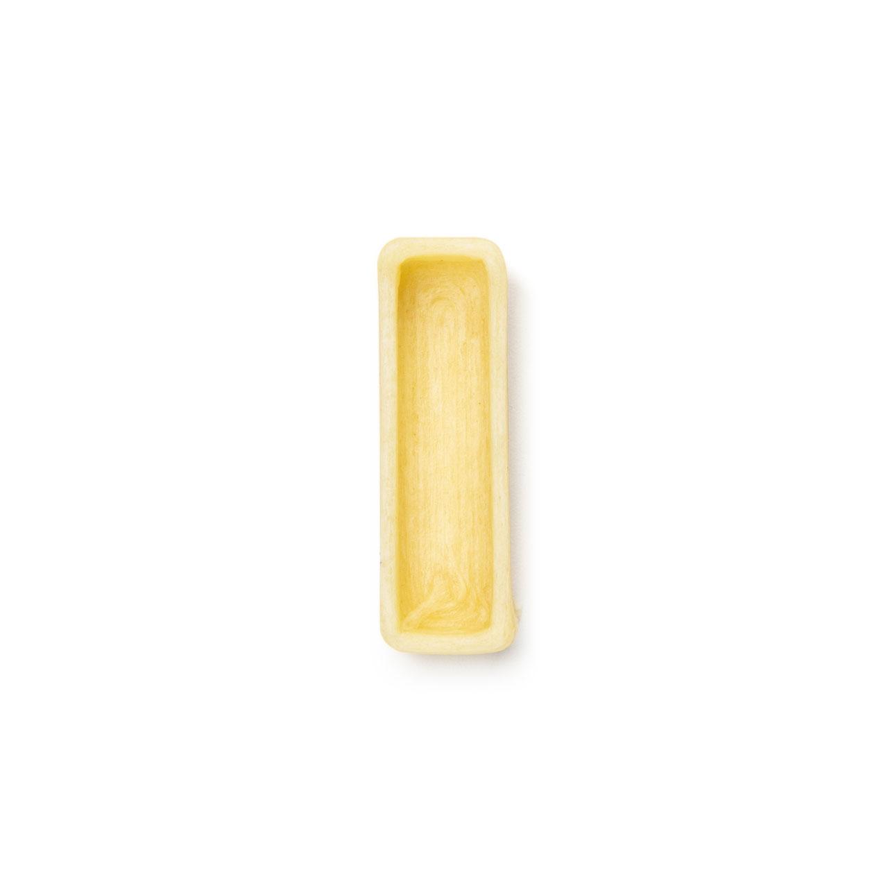 La lettera I di pasta