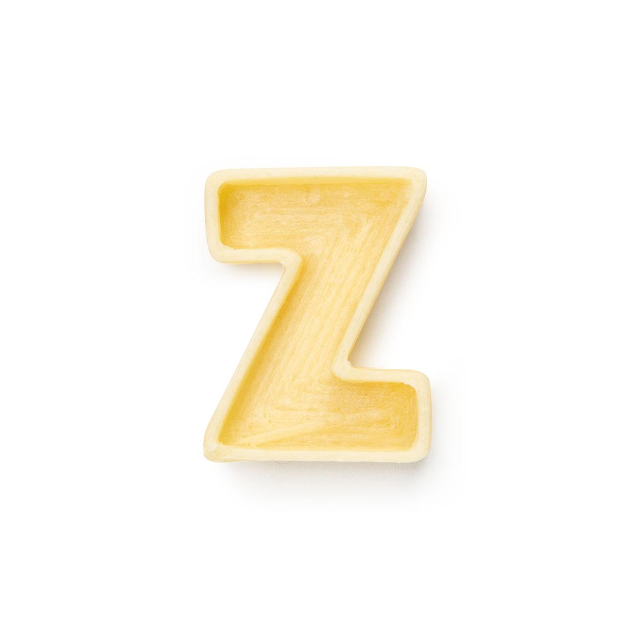 La lettera Z di pasta