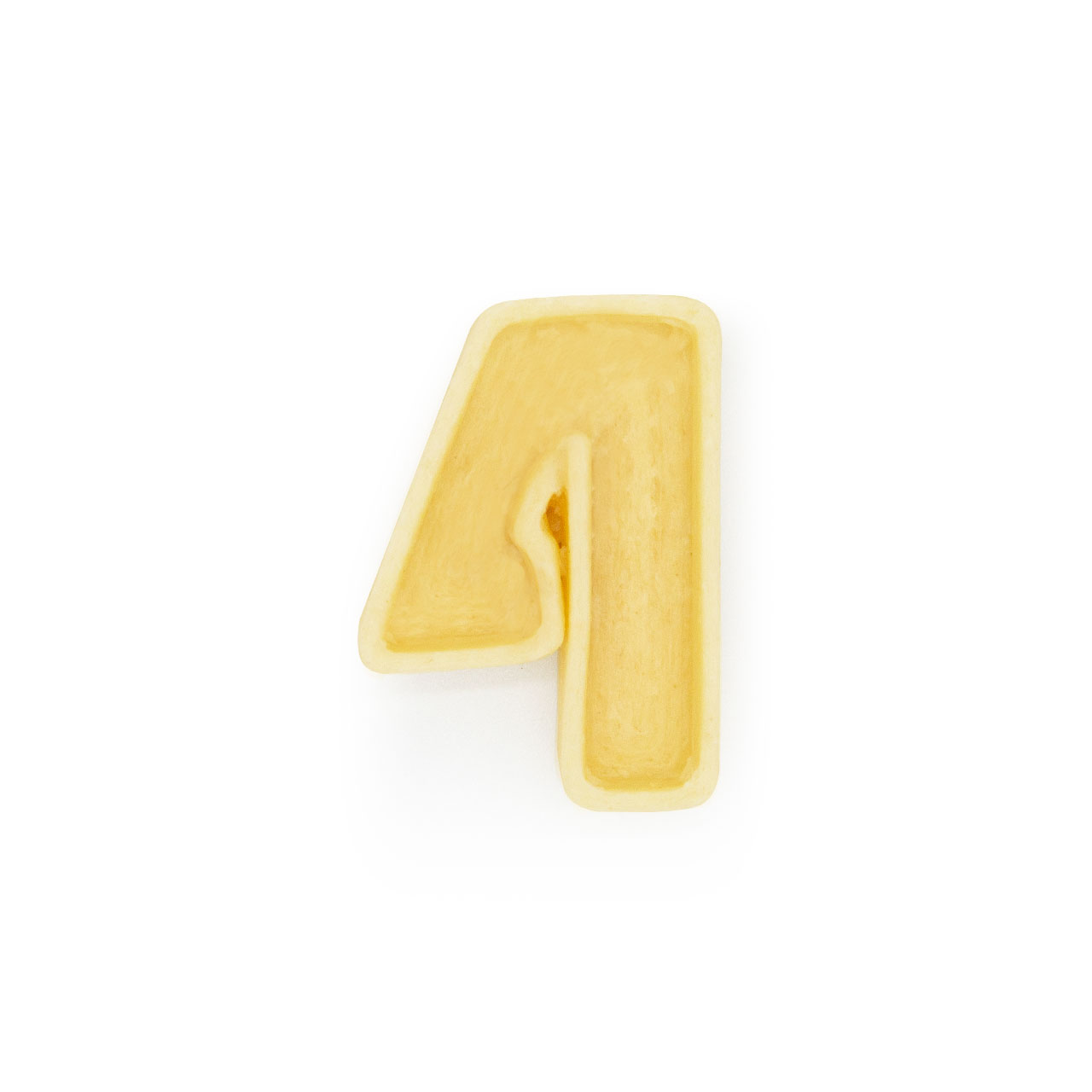 Numero 4 di pasta