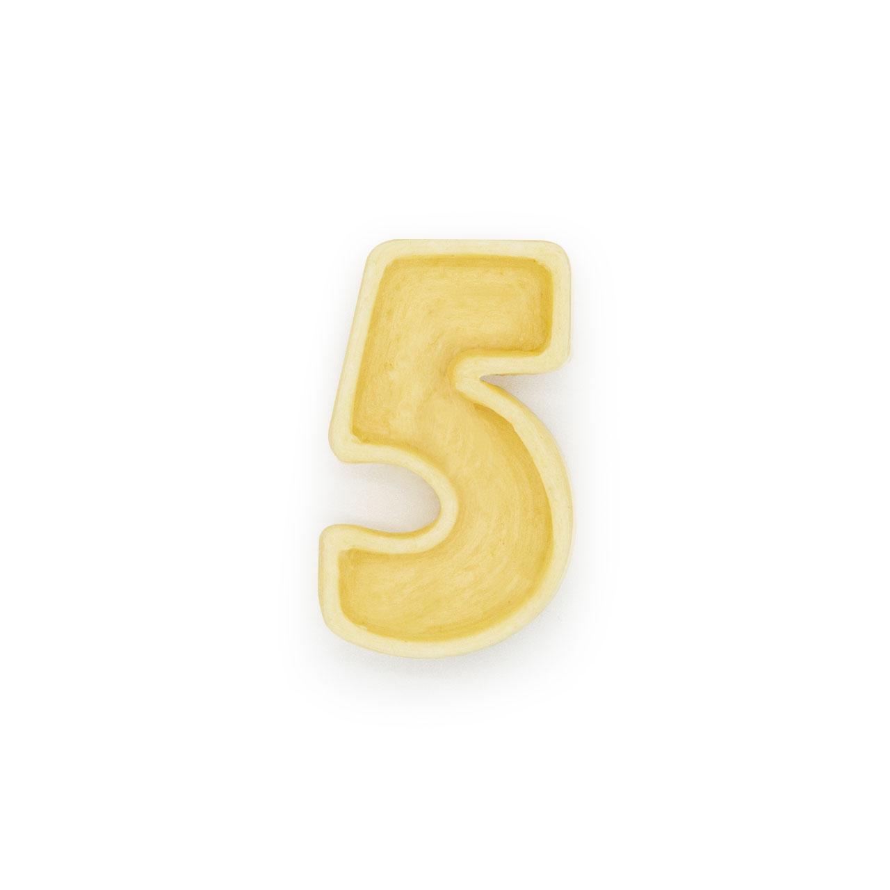 Numero 5 di pasta