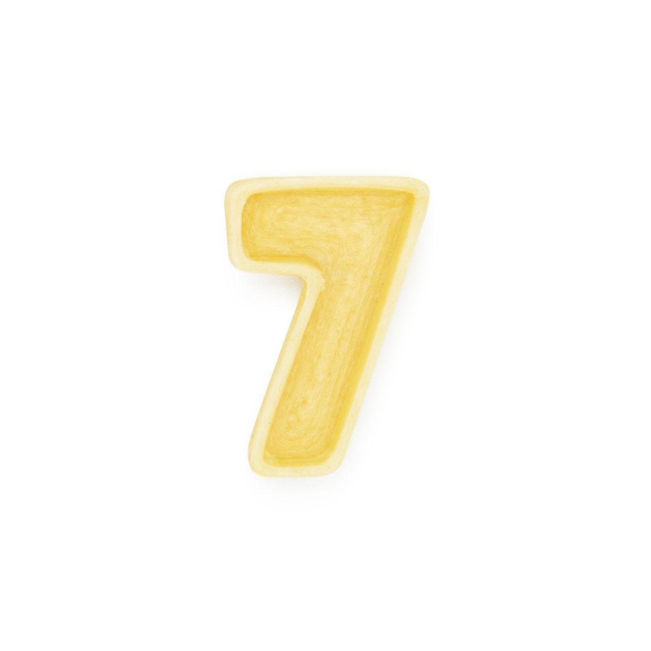Numero 7 di pasta